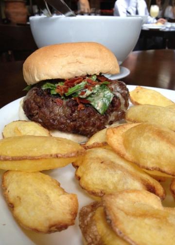 La Bombonera Burger, do Pobre Juan