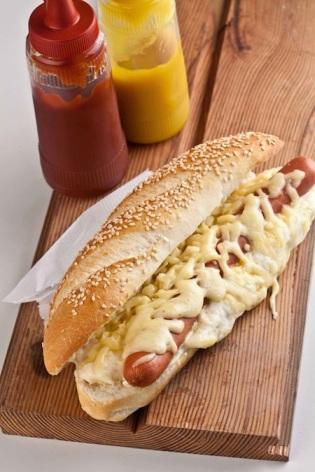Hot dog à francesa (foto de divulgação)