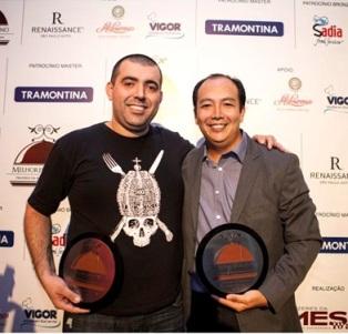 Rueda e Saburó, os melhores chefs do ano